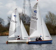 The Graduate is great as a starter boat as well as having enough thrills for more experienced sailors.
