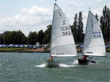 The Solo Fleet at Papercourt is one of the largest fleets of Solos at any club in the world